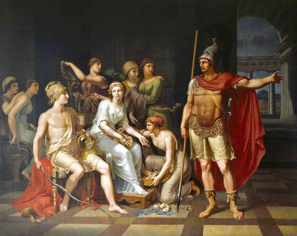 iliad and hector The achaians: heroes in the iliad certain heroic characters play major roles in the battles even though the reader knows that many more common soldiers must be.
