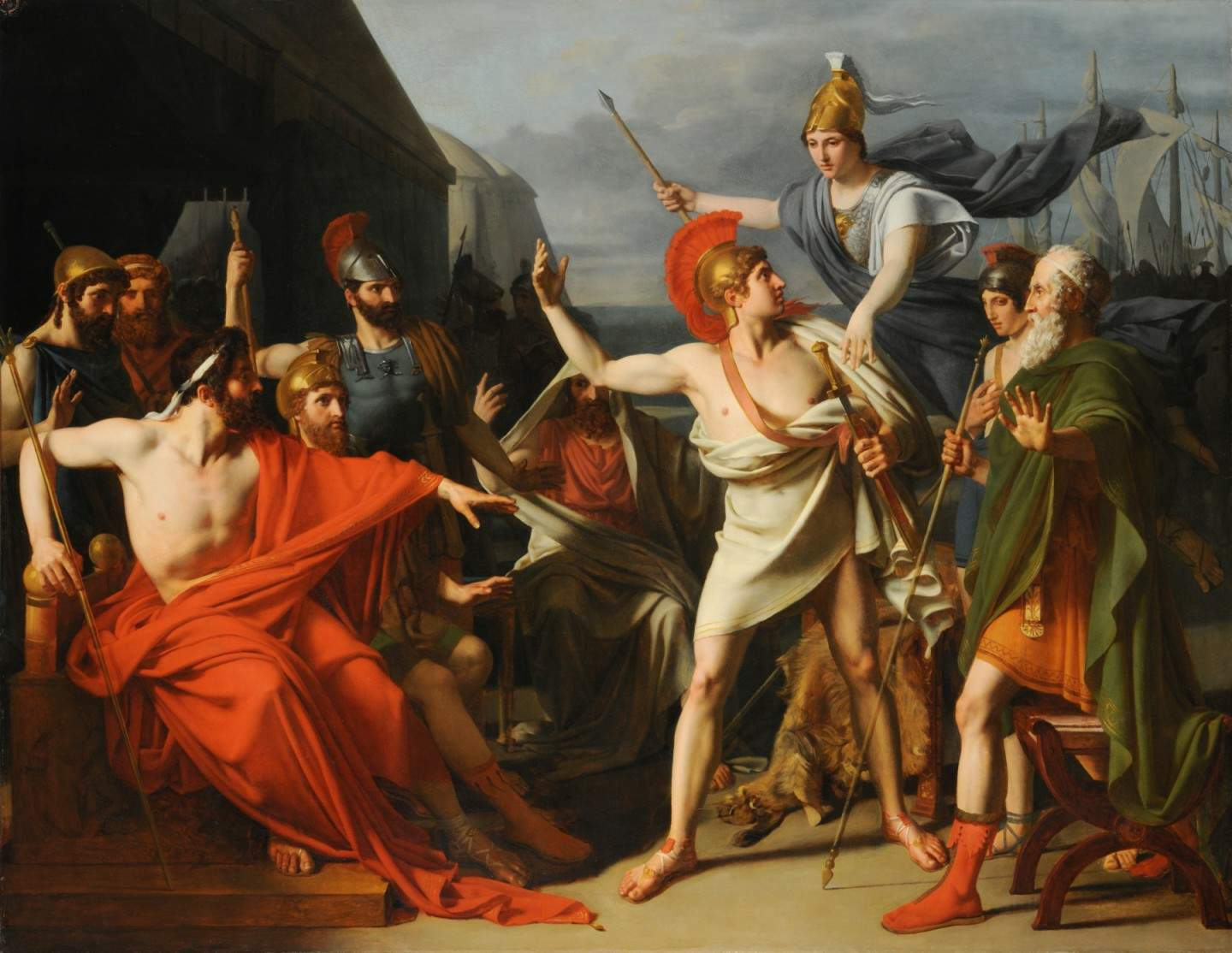 an analysis of the characters of achilles and diomedes in the iliad an epic poem by homer