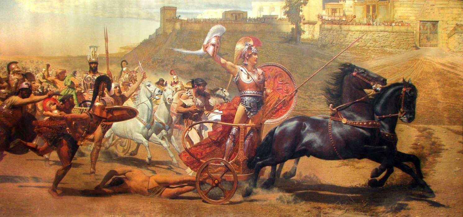 hector vs achilles in the iliad essay
