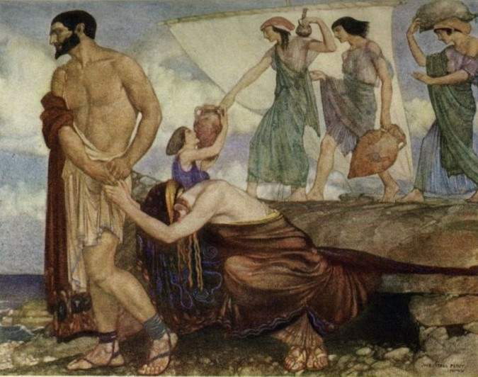 the role of penelope klytaimnestra and kalypso in the epic the odyssey by homer