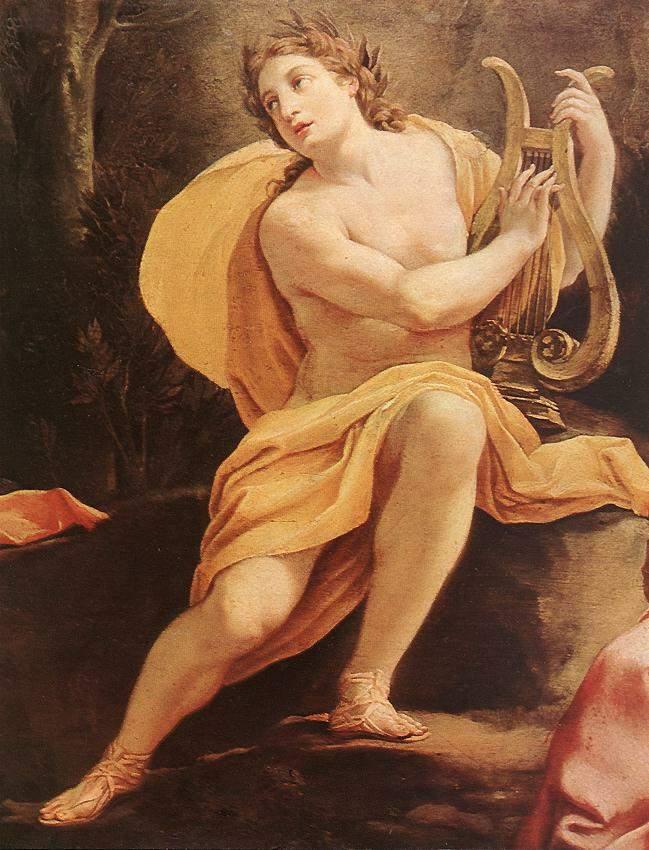an analysis of the myth of apollo a hymn to pythian apollo Apollo god – a bright – greek mythology (pythian apollo) and the instrument became a common attribute of apollo hymns sung to apollo were called.