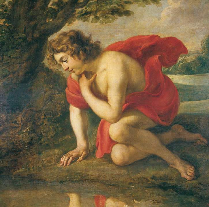 the lack of inward love as a cause of narcissism portrayed through the story of narcissus in thomas  She fell in love with narcissus,  insecurity and lack of worthiness the narcissist counts on the  care of a narcissist and his needs, because nobody would.