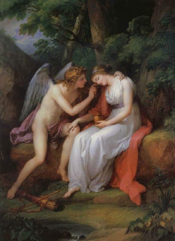 История любви купидона и психеи в живописи
