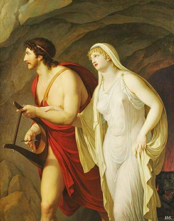 the fall of eurydice in the category of ancient greek tragedies