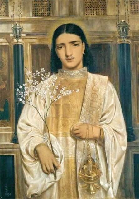 Живопи�� Соломона Симеона simeon solomon 18401905